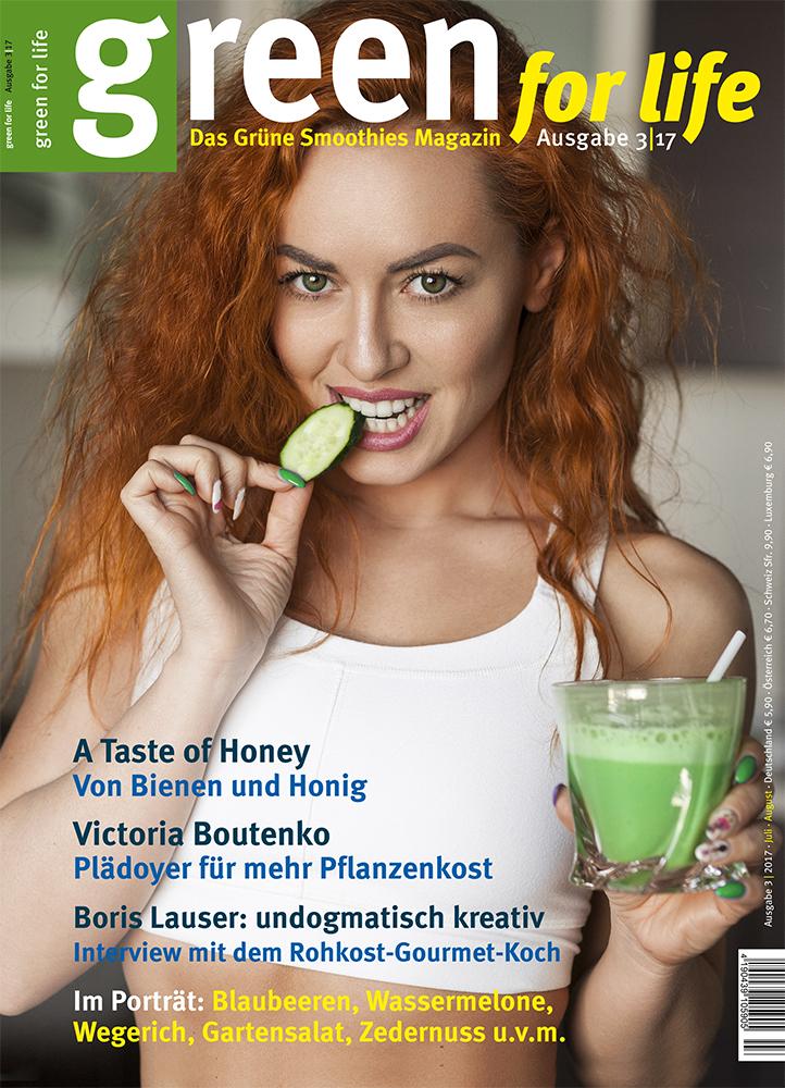 Green For Life Magazin über Grüne Smoothies und eine gesunde, natürliche Ernährung