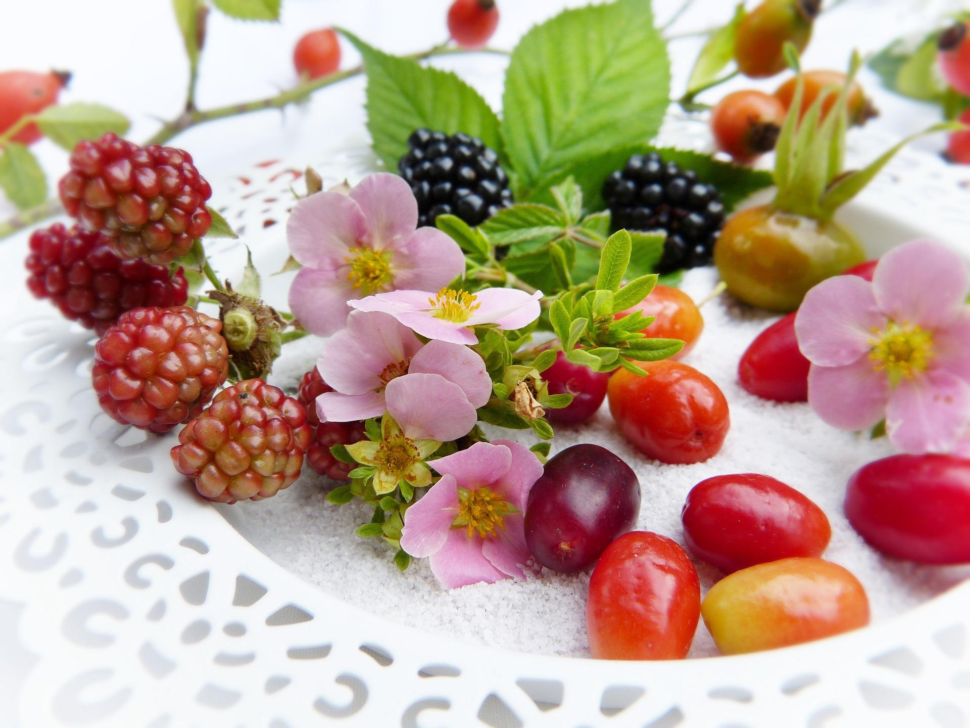 Smoothie Rezept mit Taubnessel, Brombeerblätter, Sanddorn, Hagebutten, Äpfel, Birne, Ingwer, MykoSan Fit & Vital